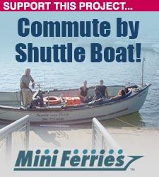 Seattle Mini Ferry on Lake Union